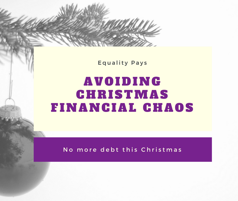 No more debt this Christmas