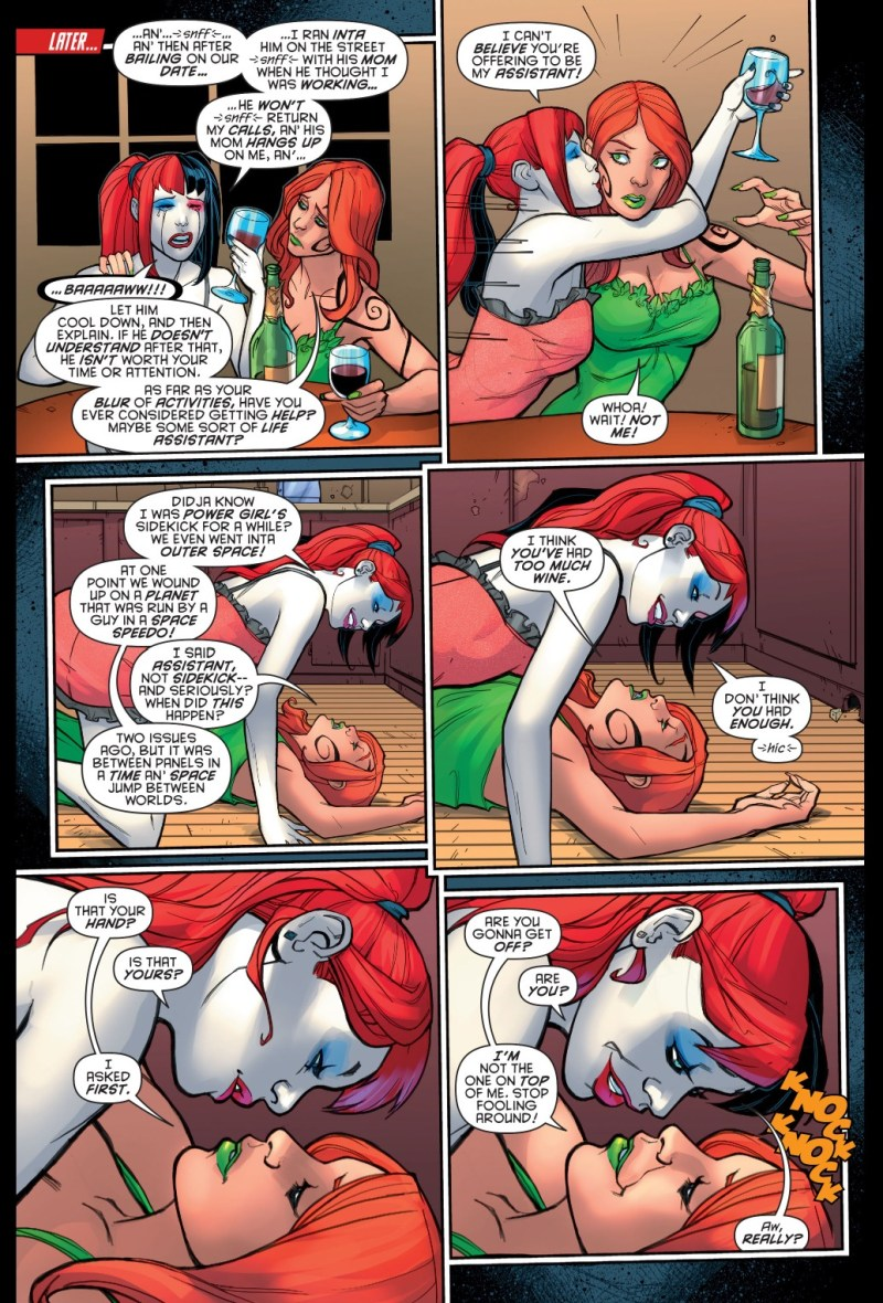 Lesbian and Bi Anti-Heroines and Villains - Harley Quinn
