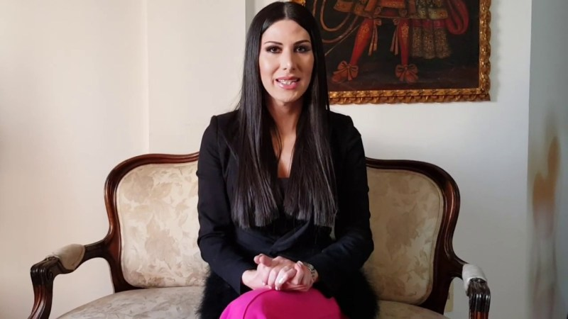 Leonie Dorado  First Transgender News Anchor