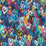 Hearts graffiti