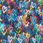 Hearts graffiti
