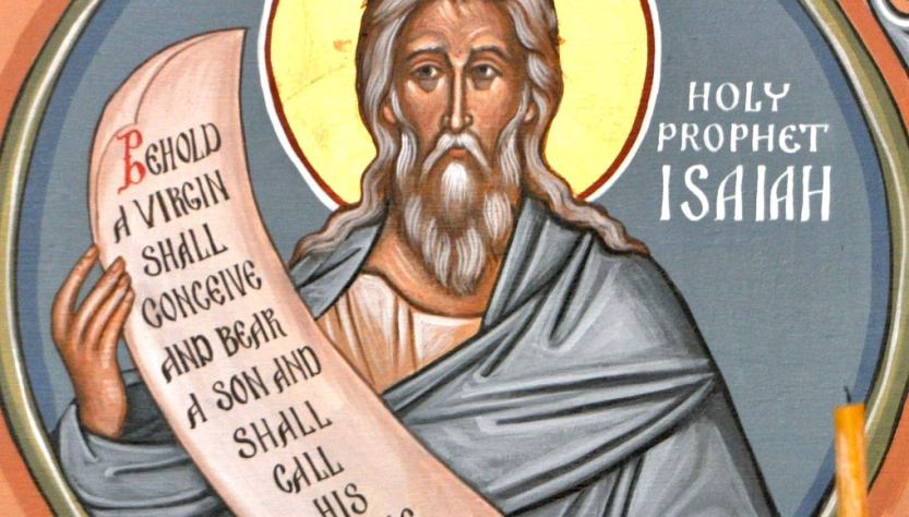 Bible prophet Isaiah liberal