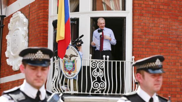 Assange ambassade Equateur
