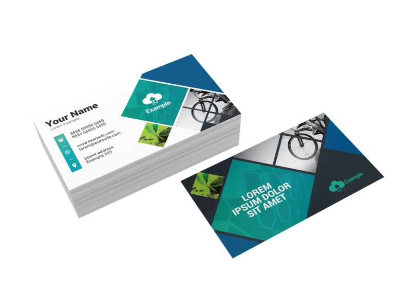 Business Cards Gloss Laminated