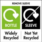 Packaging Recycle Labels_widely-recycled-bottle-not-yet-recycled-sleeve_Print Recycle Symbols_London