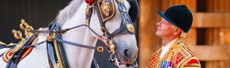 """The Queen and Her Ceremonial Horses"" - Documentary"
