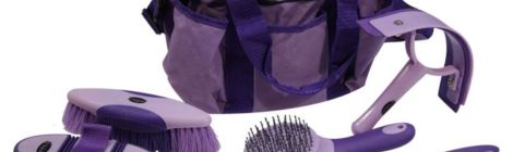 The equestrian grooming tools and how to use them