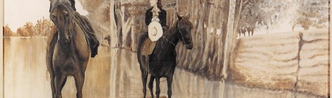 What is side saddle?