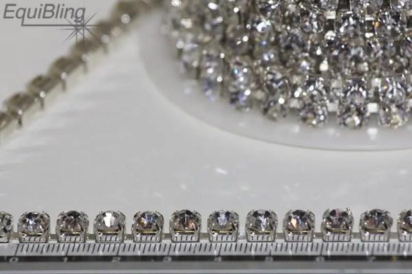 6mm strassketting crystal