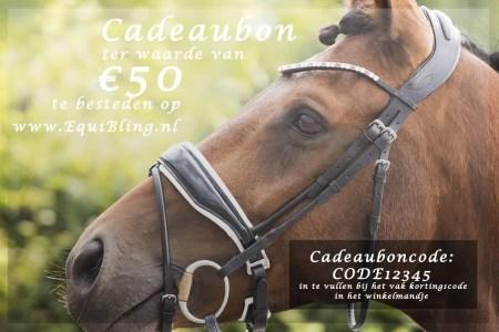 Cadeaubon equibling 50euro