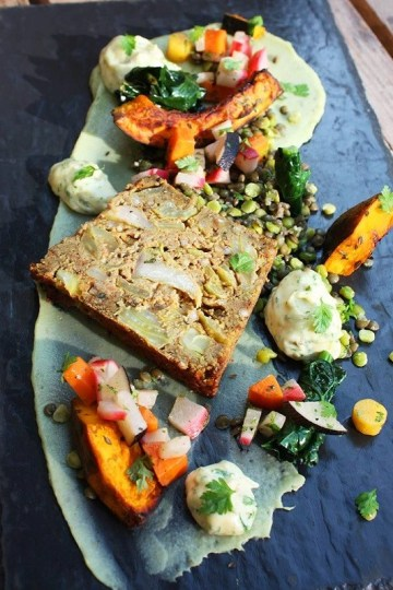 Terrine vegan