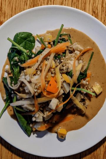Cocotte de légumes au sarrasin,
