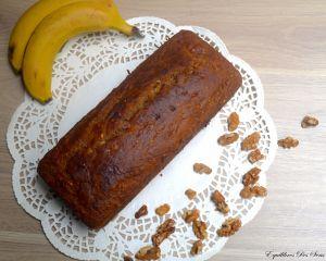 Banana bread aux noix