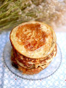 Irrésistibles pancakes à la farine de noix de coco pour un petit déjeuner healthy :-)