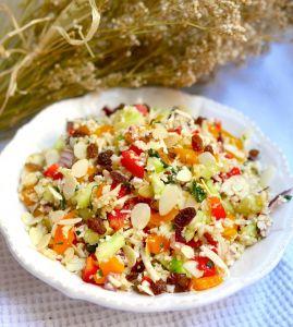 Un taboulé de chou-fleur à la menthe frais et léger pour vos repas d'été !