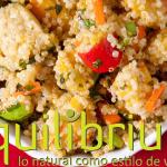 ensalada y quinoa