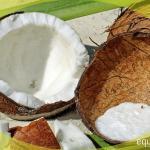 crema helada de coco
