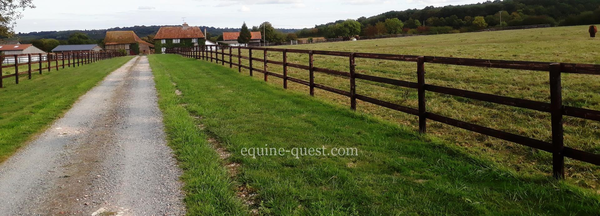 Normandie – Région Pays d'Auge – Rare – Propriété équestre 27 hectares