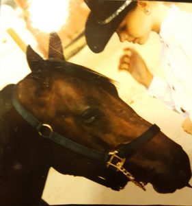 Pokey my inspiration for promoting horse health