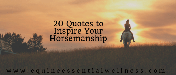 20 Quotes to Inspire Your Horsemanship
