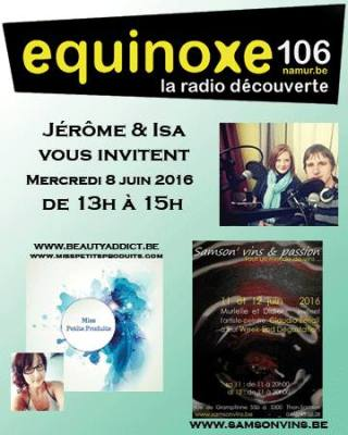 Jérôme et Isa vous invitent : Astuce Beauté et Dégustation de vins sont au programme !