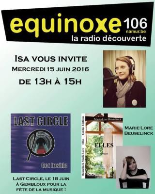 Isa vous invite