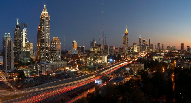 Atlanta Skylines of and from Atlantic Station
