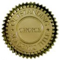 choice badge