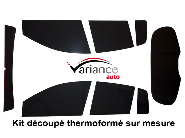 kit complet film teinte premium decoupe et thermoforme aux formes de vos vitres sur mesure