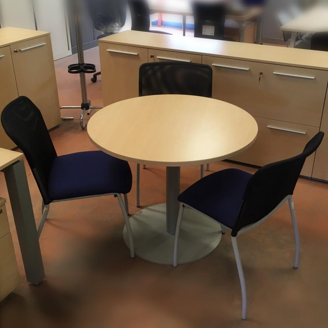table ronde de bureau occasion diam 90 cm