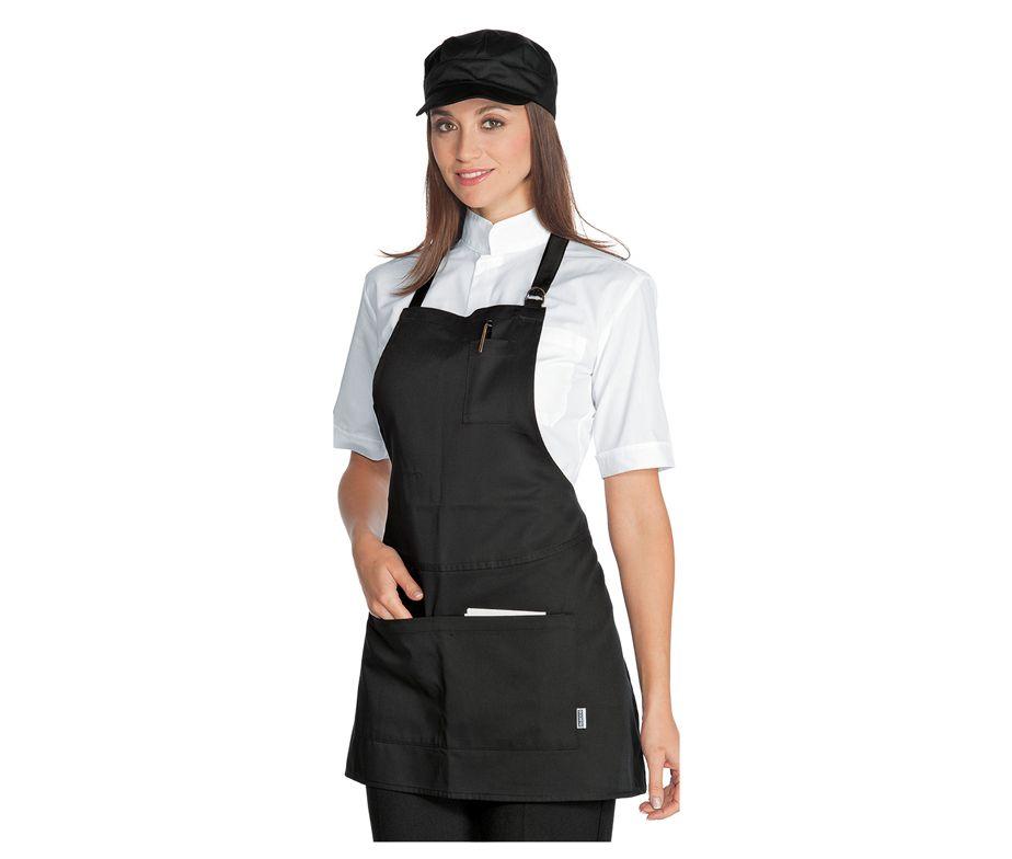 Delantal peto de camarero delantal peto hosteleria isacco for Delantales de cocina