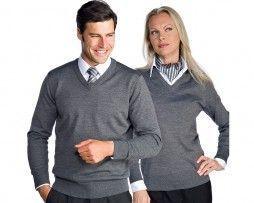 isacco-jersey-unisex-gris-sanitario-camarero-recepcionista