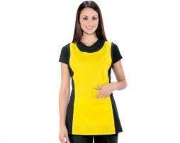 delantal-amarillo-negro-sanitario-camarero-isacco