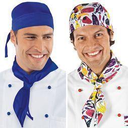 Pañuelos de pico para cocinero