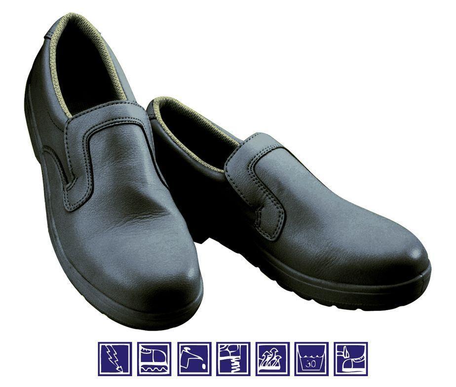 Zapato negro de seguridad total unisex para cocina y - Zapatos para cocina ...