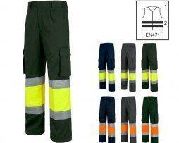 pantalon-alta-visibilidad-workteam-c4018