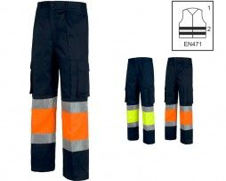 pantalon-alta-visibilidad-workteam-c4019