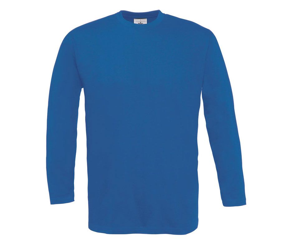 Camiseta manga larga de hombre sin bolsillos camisetas - Ropa de hosteleria barcelona ...