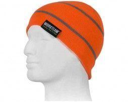 gorro alta visibilidad naranja AV para el frío