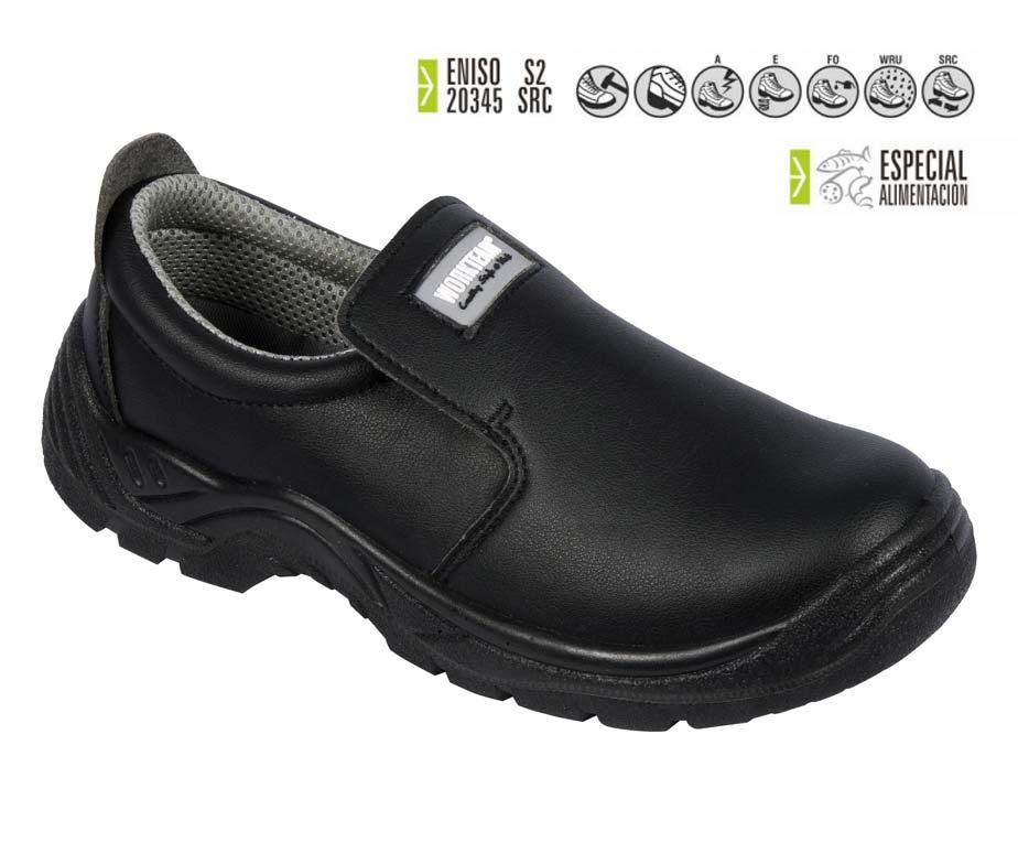 Zapato seguridad total blanco cocina y sanidad calzado for Zapatos de cocina