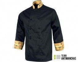 chaqueta chef antimanchas