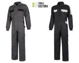 Buzo de Trabajo Triple Costura Con Refuerzos WF1042
