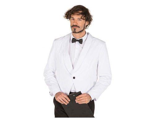 chaqueta torera corta de camarero negra o blanca