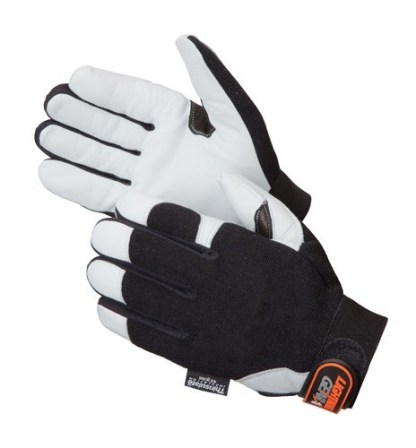 0856 Reinforcer Premium Grain Goatskin Mechanics Glove, Pair