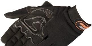 0915Q/BK OnyxWarrior Black Mechanic Gloves, Pair