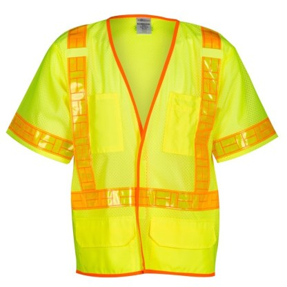 ML Kishigo 1201A ORALITE Mesh Lime Vest