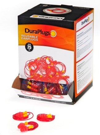 14271 Duraplug® Reusable Earsplug Corded, 100ct