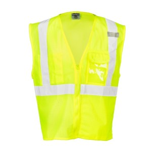 ML Kishigo 1532 Clear ID Vest Lime