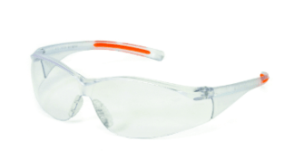 INOX 1715RTN/C/AF F-III Clears Lens (anti-fog) With Clear/Orange Frame