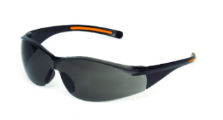 INOX 1715RTN/G/AF F-III Gray Lens (anti-fog) With Black/Orange Frame